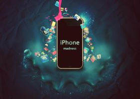 iPhone Madness by alexesn