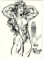She Hulk by PeterPalmiotti