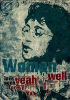 John Lennon the song- Woman - by ArtByKostasTsipos