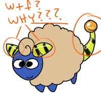 Mareep by JHALLpokemon