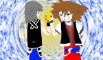 get well soon mizuki gift pic 4 Kingdom hearts by AndrewGeorge1991