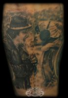 Adrian and rocky by state-of-art-tattoo