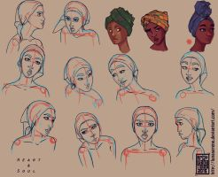 Tchiyo_Face Angles by lunaSerene