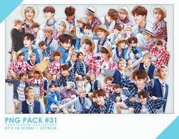 PNG PACK#31 -   BTS in Dubai 32PNGs - By Yangyangg by Yangyanggg