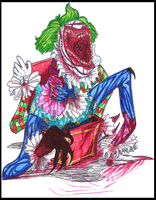 Clown in the box by Cageyshick05