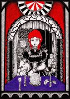 The fortune teller by inkarts