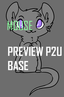 Mouse Base [P2U] by SnapplesAdoptions