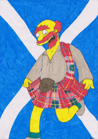 St. Andrews Day: Willie by spookyfoxmulder