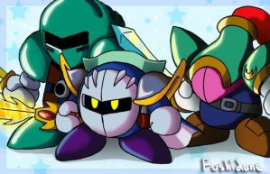 Knights of Castle Dedede by Fushidane
