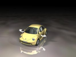 3D Car by isiza