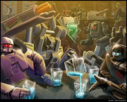 City-bot Attendants by Astro-L