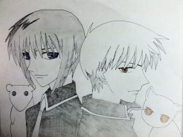 Yuki and Kyo by Cassidy-Slingby