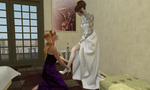 Bridesmaid's duties by AmethystPendant