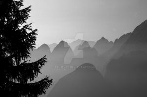 Behind Seven Mountains by Dfujevec