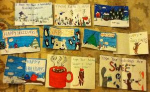 Holiday cards 2012 inside by Deviant-Danni