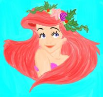 Ariel Coloring Book by ByakuyasVampire