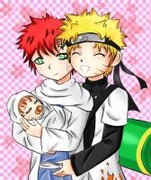 Naruto and Gaara first Child by SeidooReiki