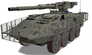 IFV M1128 Mobile Gun System by unspacy