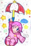 Kirby's parasol by sephiroth72603