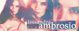 Alessandra Ambrosio ~ sign. by kewinn
