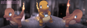 Charmander Banner Commission by AutobotTesla