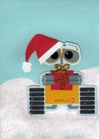 Wall E Holiday by StariaChiba