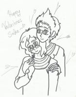 Happy Valentines SafieChan by Naxylie