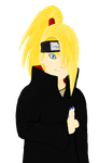 Deidara - First Attempt _Old_ by Baby-Cougar