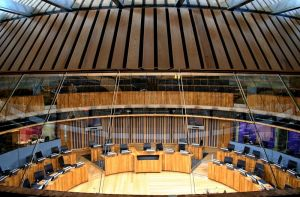 Welsh Assembly Chamber 01 by l8