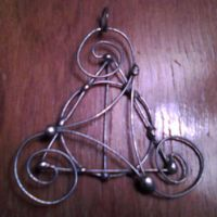 Deathly Hallows Triskel Pendant by smelliga