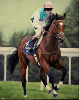 Frankel by AmyGreenArt