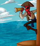 Fanart - Pirate Spiderman by ImmortalAlchemist