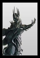 The Dark Lord Sauron by Shadrak