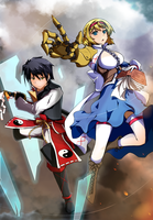 Touhou VividDaybreak - Alice and Kouga by Altronage