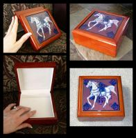 Keepsake Boxes by sighthoundlady