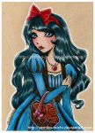Snow White by yamiko-michi