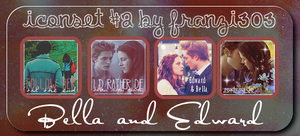 Iconset with Bella and Edward by franzi303