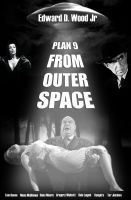 Movie Poster Project: Plan 9 by Gravelstain