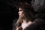 Lady of the forest by HuldreFoto