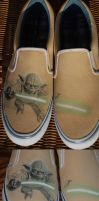 Star Wars: Yoda Shoes by jen4eternity