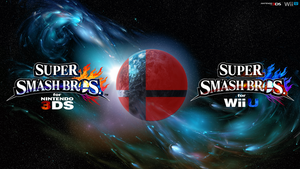 Super Smash Bros. Wii U/3DS Logo Wallpaper #77 by TheWolfBunny