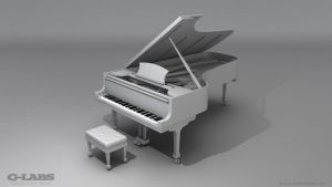 Grand Piano (WIP) by GarryColeman