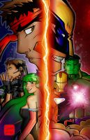 Marvel Vs. Capcom 3 by SeanLenahanSD