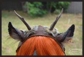 Deluxe fawn headdress by Key-Feathers