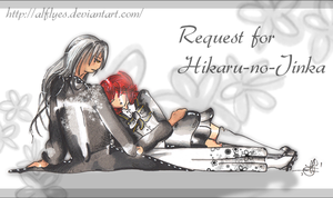 Free request for Hikaru by Alflyes