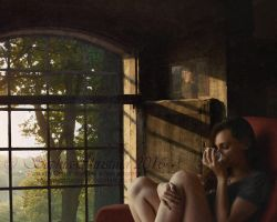 Tranquil Morning Thoughts wm by Sophia-Christina