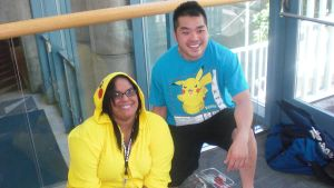 Pikachu And pika Fan by Yagami2010