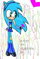 JENNY THE HEDGEHOG BY CATANGEL by CATANGELGRIL