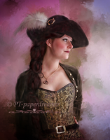 Vogue Pirate by PaperDreamerArt