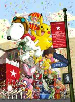 Macy's Day Poster 2006 by dsantat